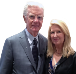 Evelyn Brooks with Bob Proctor